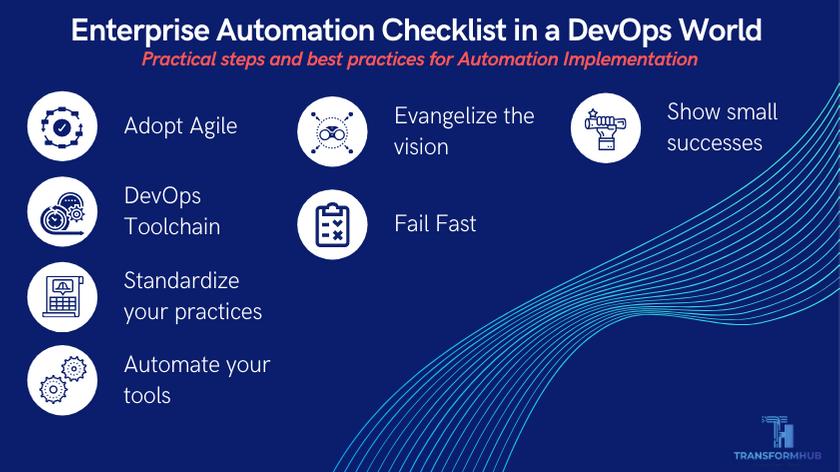 Enterprise Automation Checklist in DevOps world